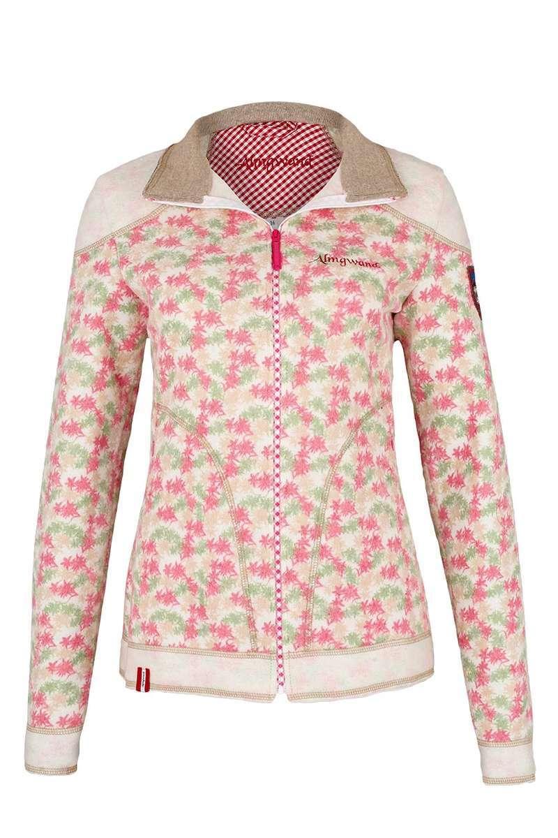 Damen Trachten Outdoorjacke natur rosa - Damen - Mia San Tracht 54489ac881