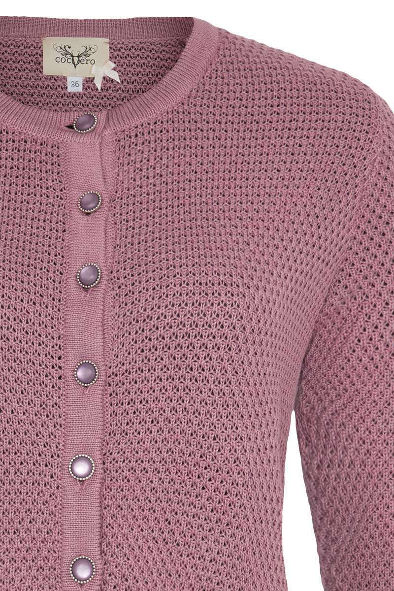Dirndljacke dusty rose Bild 2