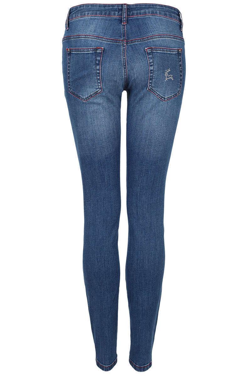 Damen Trachten-Jeans mit Strass-Applikationen - Damen - Mia San Tracht 44340d413a