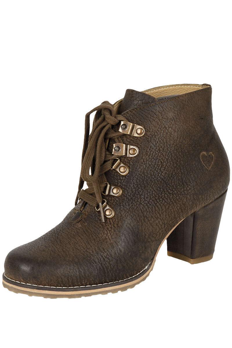 cb974e835e33f1 Damen Trachten Stiefel Rustic Braun - Damen - Mia San Tracht