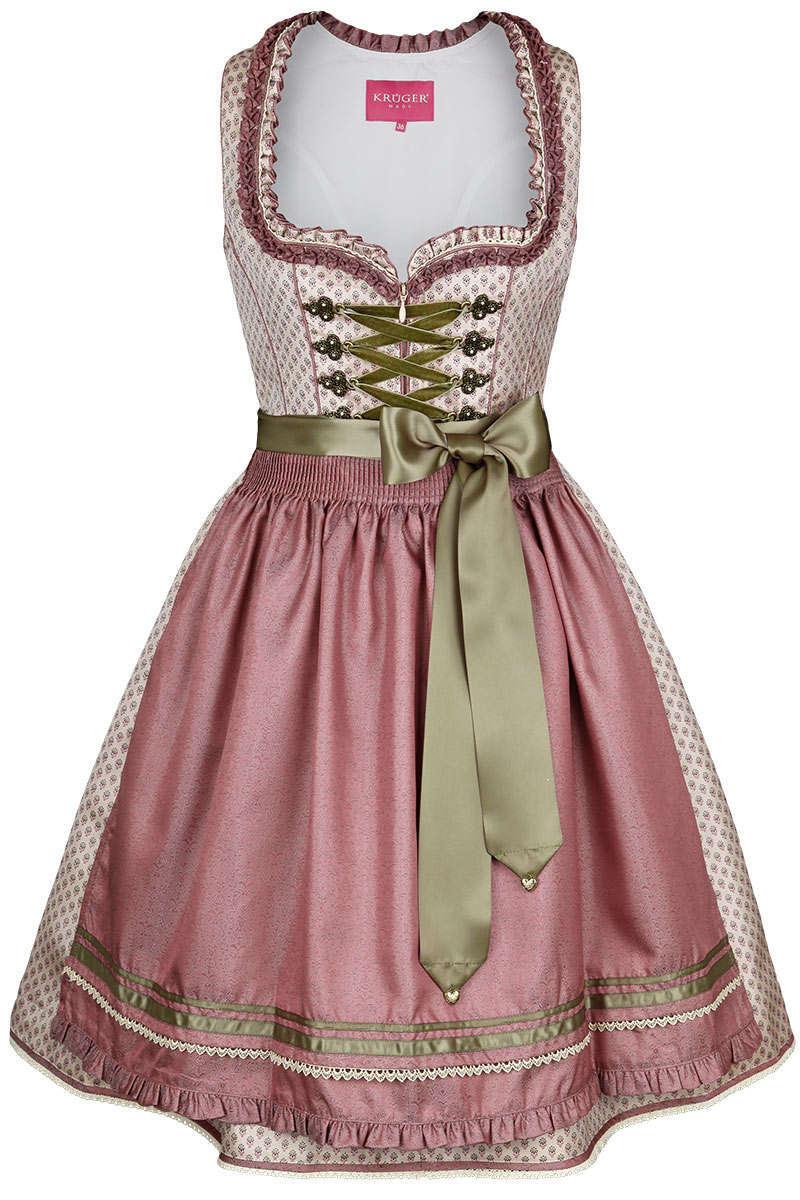 mini dirndl creme rosa elegante dirndl dirndl f r jeden. Black Bedroom Furniture Sets. Home Design Ideas