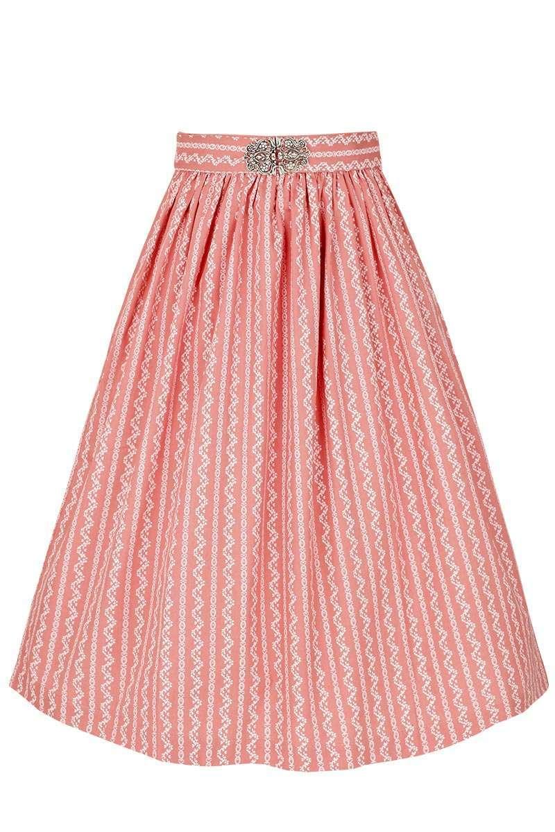 dce8a1500d0867 Broschen Dirndlschürze 65cm rosa - Dirndl Damen - Mia San Tracht