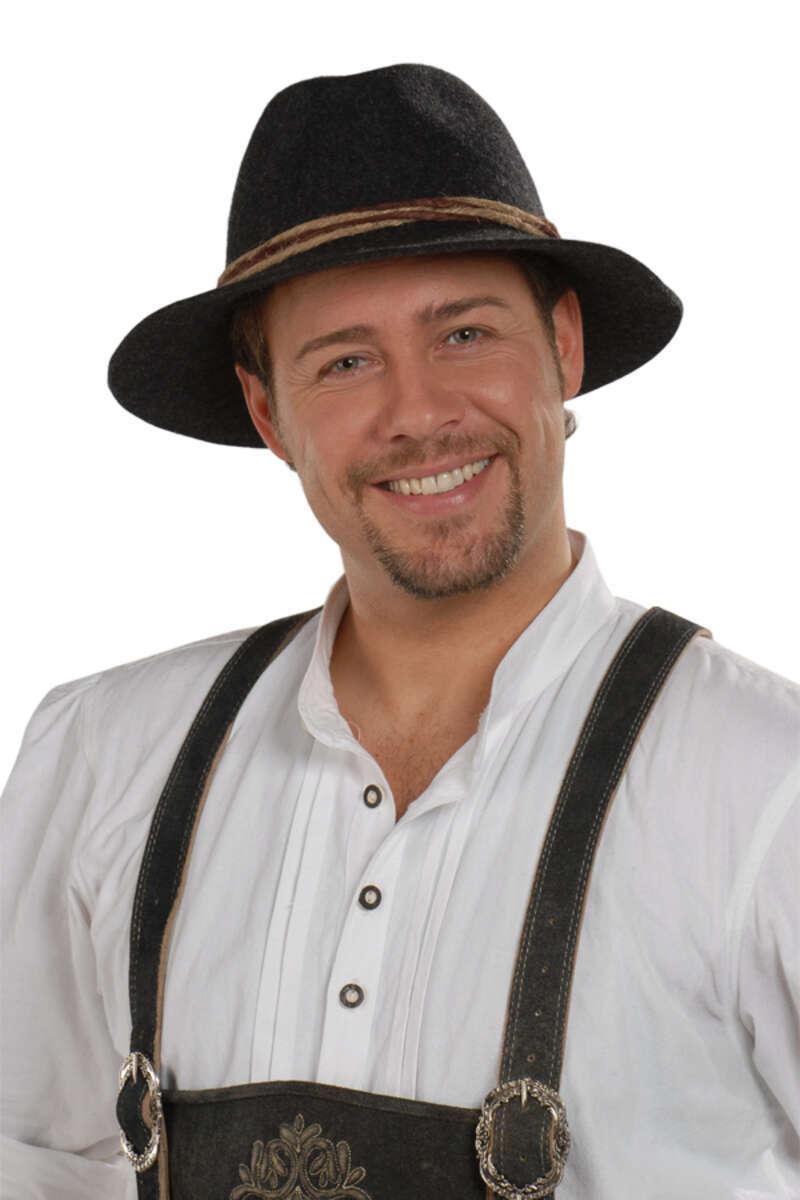 b88182d1cd8a8e Faustmann Hüte Tiroler Hut braun Der Ur-Tiroler® nur echt mit dem  naturbelassenem Rand!