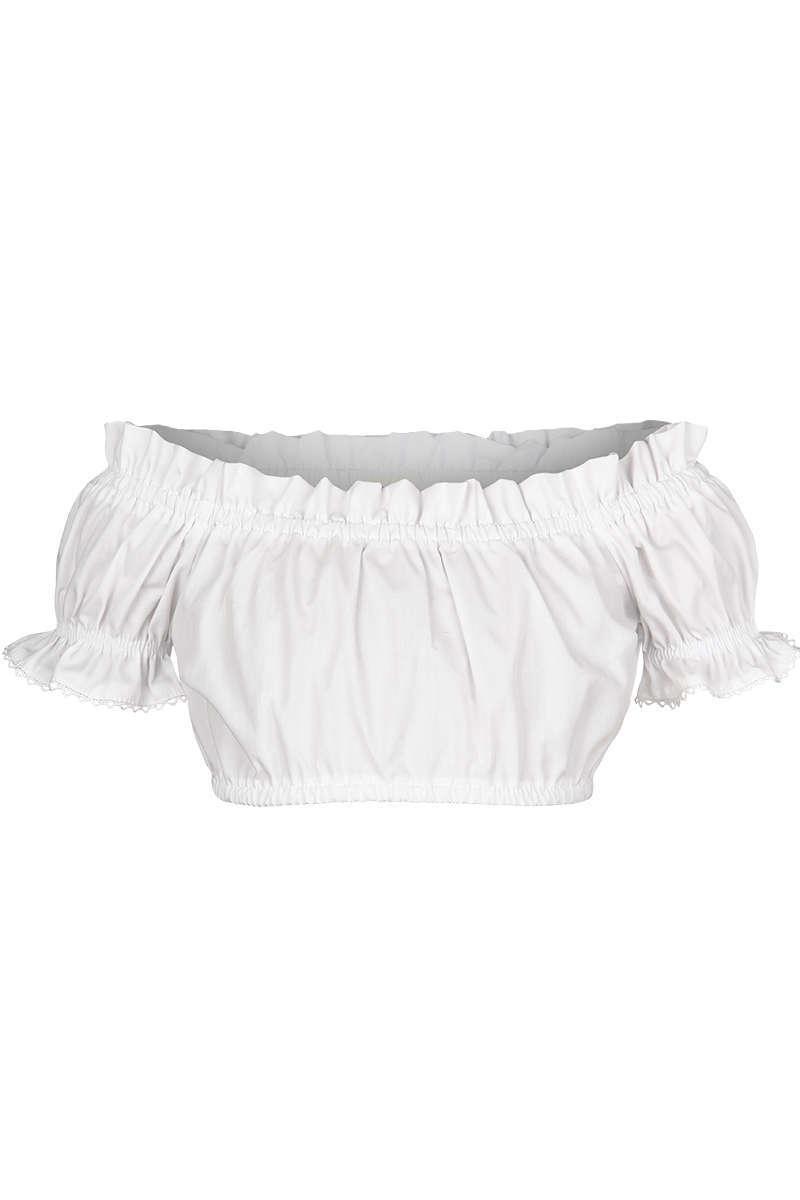 Mädchen Dirndl Carmenbluse weiß - Mädchen Kinder - Mia San Tracht 30e9ccb2f0