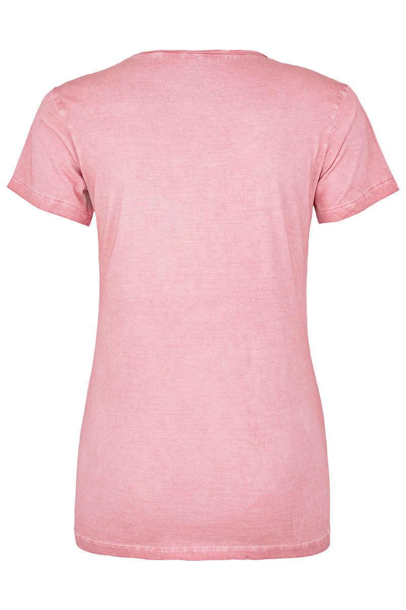 6c17c6747ed062 Damen Trachten T-Shirt Herz erdbeere - Damen - Mia San Tracht