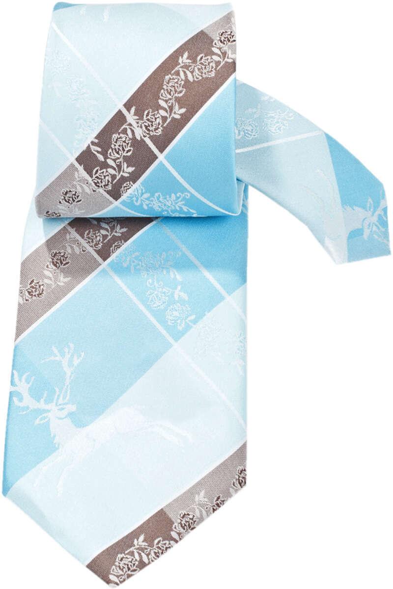 trachten krawatte hirsch t rkis braun trachten krawatten trachtenanz ge herren mia san tracht. Black Bedroom Furniture Sets. Home Design Ideas