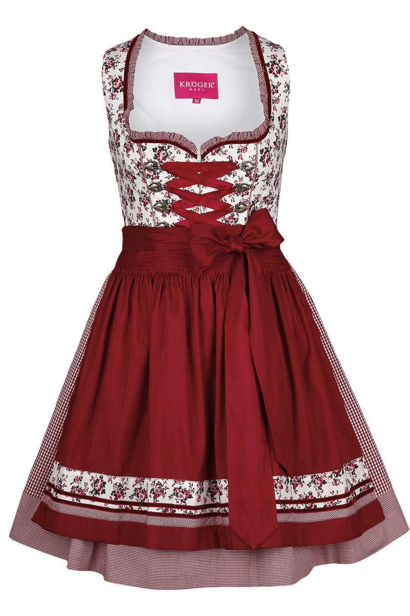 Mini Dirndl rot - Dirndl Damen - Mia San Tracht 50dd238543