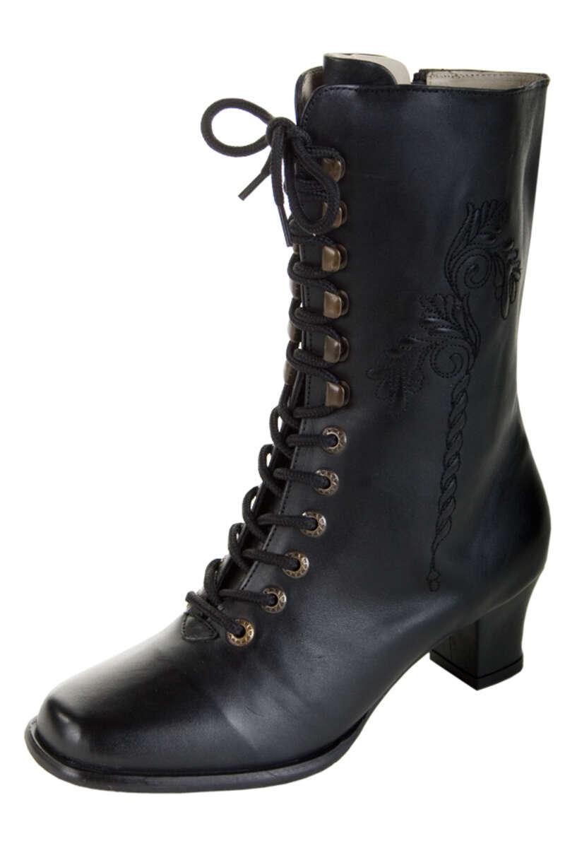 Qualität und Quantität zugesichert abwechslungsreiche neueste Designs Schatz als seltenes Gut Stiefel schwarz Leder