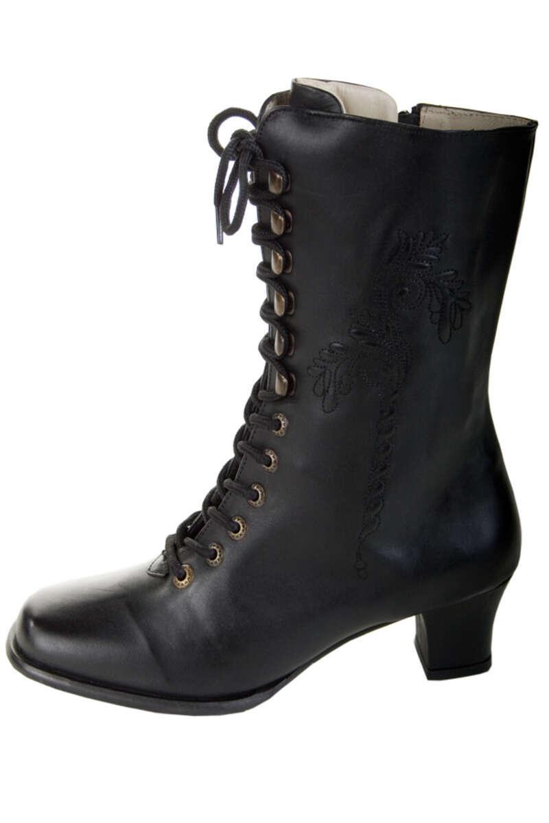 buy online b6d41 a4f5b Stiefel schwarz Leder