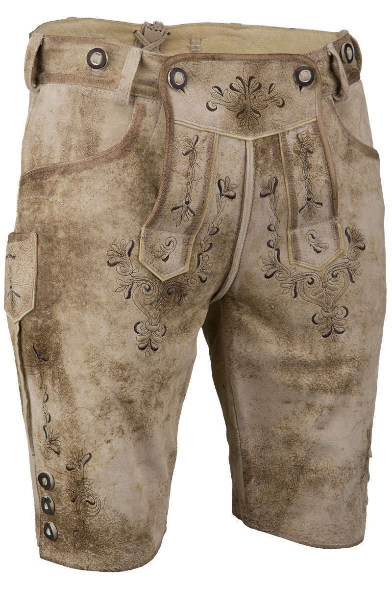 c618dba441c9 Lederhose kurz mit Stegträger - Kurze Lederhosen Trachten Lederhosen ...