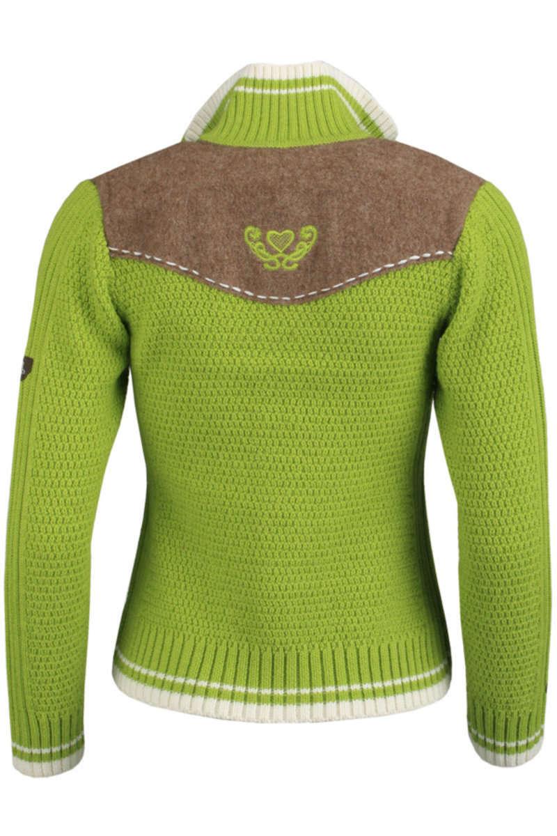 Strickjacke hellgrün - Jacken trendig Jacken Damen - Mia San Tracht