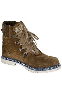 a09d3051be4e82 Spieth   Wensky Damen Trachten Boots khaki blau. 99