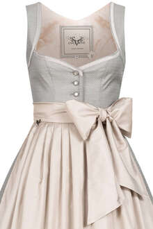 Midi Dirndl powder grey