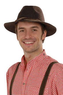 fcce2b16ec3ea7 Faustmann Hüte Tiroler Hut anthrazit Der Ur-Tiroler® nur echt mit dem  naturbelassenem Rand!