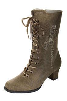 f5259fea039be6 Spieth   Wensky Stiefel hellbraun antik Eleganter Damen- Schnürstiefel in  angesagter Antik-Optik