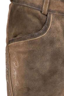 6cc4b085c495 Lederhose kurz Braun - Trachten Lederhosen Trachtenhosen Damen - Mia ...