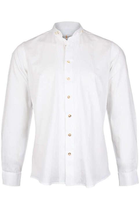 on sale f39b0 17434 Stehkragenhemd weiß