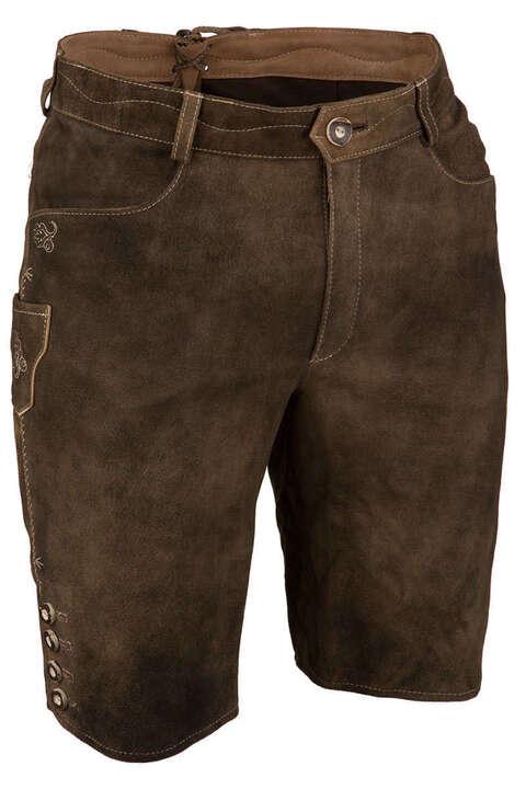 Kurze Lederhose Braun Antik - Kurze Lederhosen Trachten Lederhosen ... 52bb875649